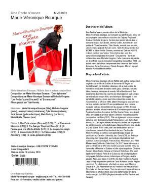 CD Une porte s'ouvre, fiche informative (français)