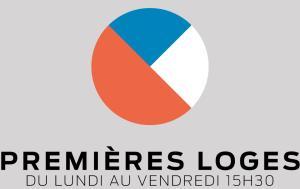 Logo - Premières loges - émission du retour à CKRL 89,1