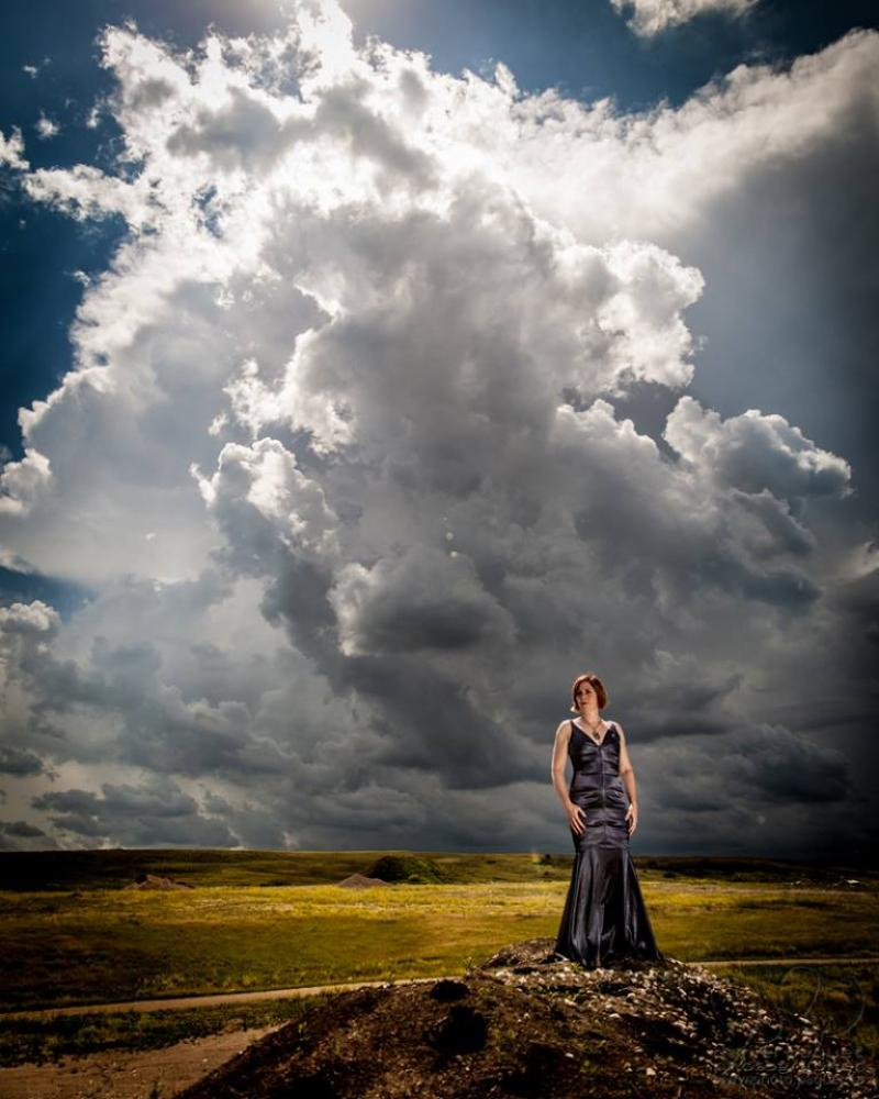 Marie-Véronique Bourque - Photo Shoot Arm River Valley, SK.