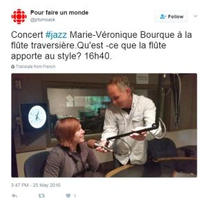 Press Review - Radio-Canada - Un premier disque pour l'ensemble les Quarter Tones